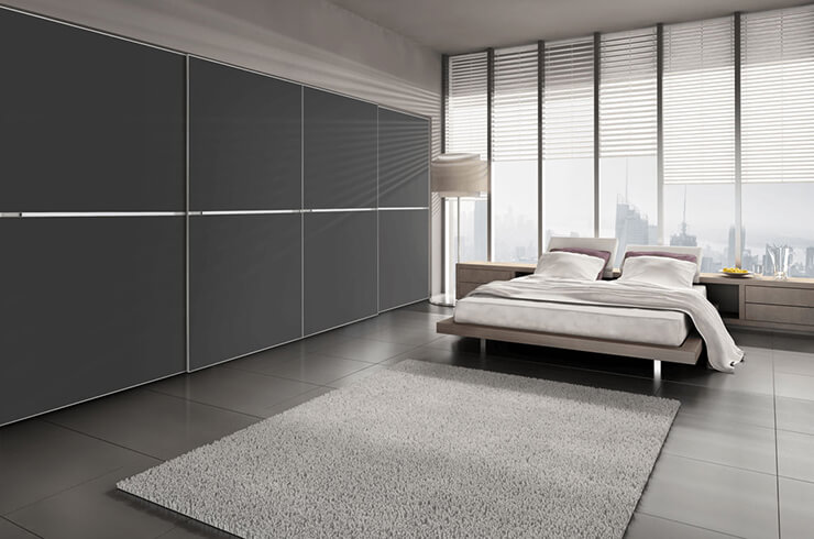 Grey Glass Minimalist