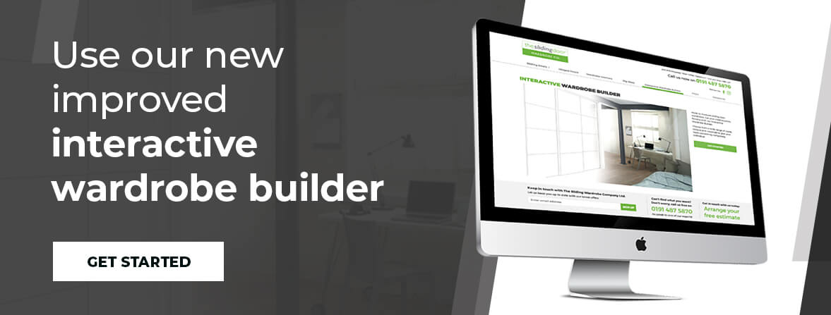 Use our new improved interactive wardrobe builder. Get Started.