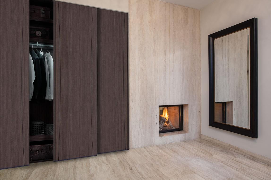Pressed sliding door wardrobes sdwc for Sliding door styles